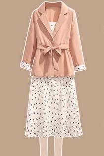 女装,套装,衬衫,半身裙