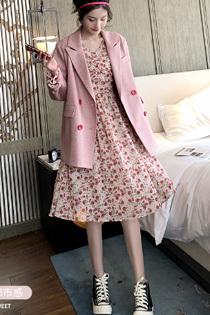 女装,套装,西装,碎花裙,连衣裙